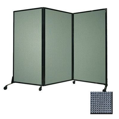 Awesome Versare Afford A Wall Folding Portable Partition Color: Ocean, Size: 88