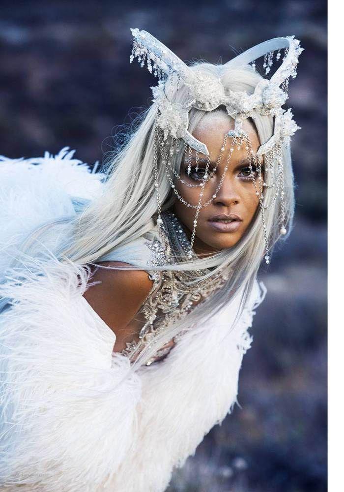 Rihanna collaboration avec TUSH magazine! | klara bezha