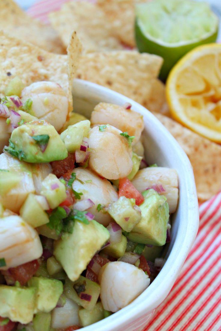 ideas about Scallop Ceviche on Pinterest | Peruvian Ceviche, Ceviche ...
