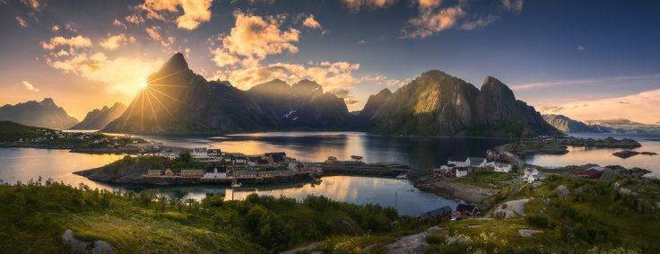 Giants of the Earth  Lofoten, Norway Photo by Ole Henrik Skjelstad