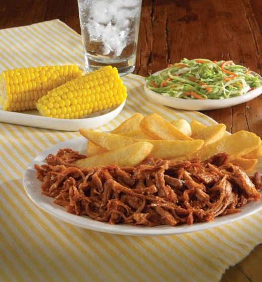 Golden Corral Restaurant Copycat Recipes BBQ Pulled beef : corral dinner plates - pezcame.com