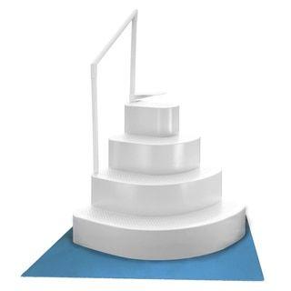 Wedding Cake Pool Steps Pad