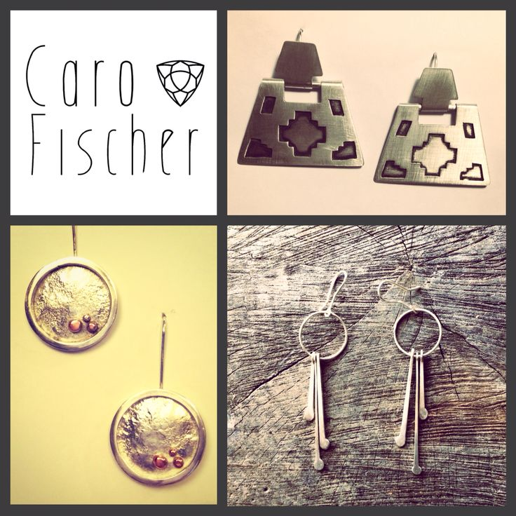 Earrings :: Caro Fischer :: Joyería Contempránea de Autor :: Contemporary Handcrafted Jewelry