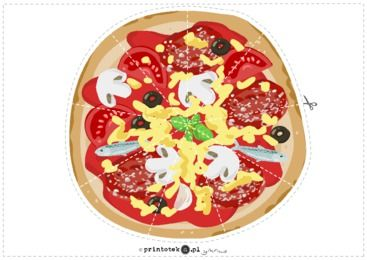 Układanka - pizza - Printoteka.pl