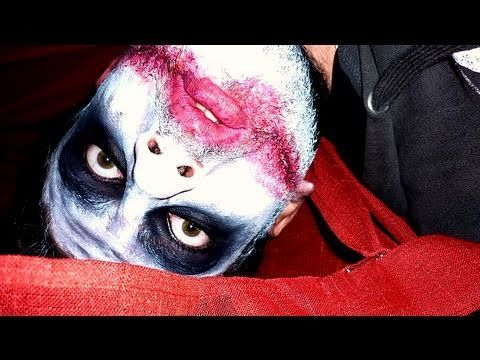 Tutorial trucco Halloween Joker with special guest Andry