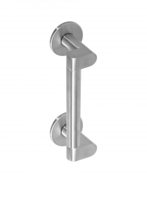 Intersteel Deurgreep Dock Solid | Exclusief ontworpen door designer Erik Munnikhof | 200 mm roestvast staal (rvs)