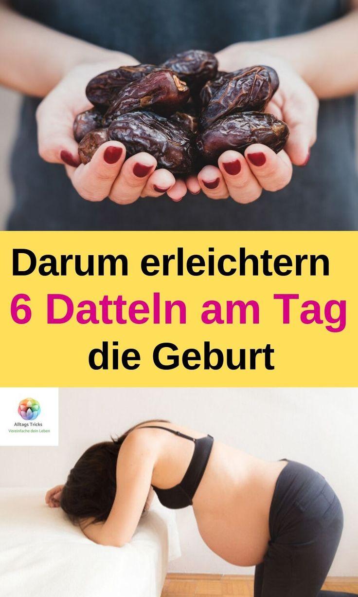 Darum erleichtern 6 Datteln am Tag deine Geburt