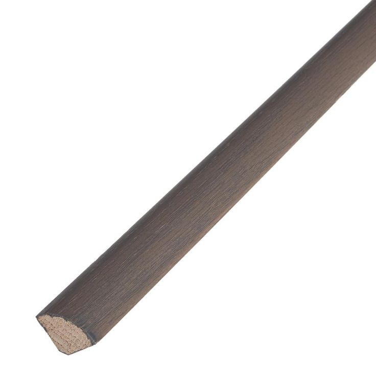 Weathered 3/4 in. Thick x 3/4 in. Wide x 78 in. Length Engineered Hardwood Quarter Round Molding