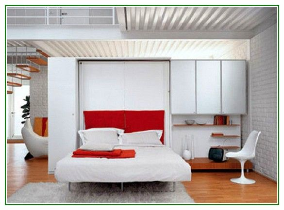 Amazing Queen Size Folding Wall Bed Design Ideas