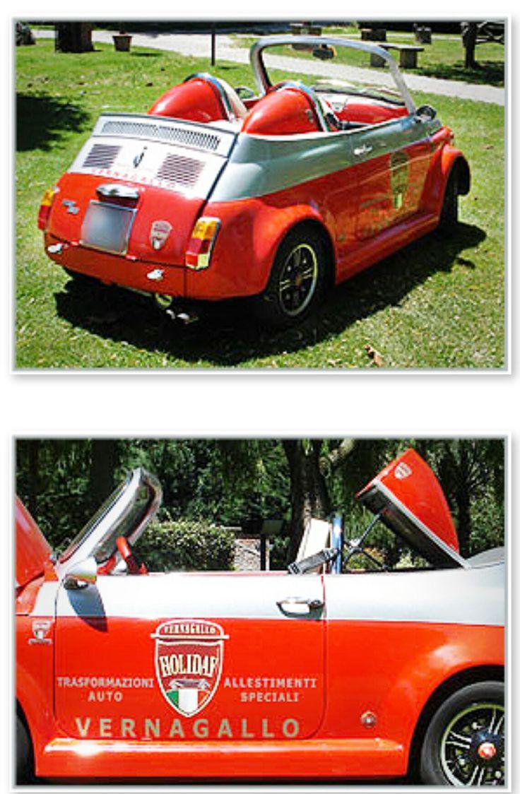 FIAT 500 SPEEDSTER-Customs into Convertible-Garage- Restoration-Custom street-