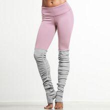 2016 Yeni Şeker Renk Tanrıça Nervürlü Tayt Yüksek Bel Skinny Yuga Pantolon Esneklik Polyester Legins Kadınlar Fitness Egzersiz Legging(China (Mainland))