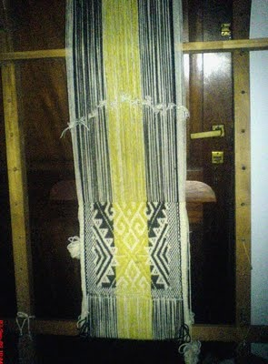 This textile is of Mapuche culture