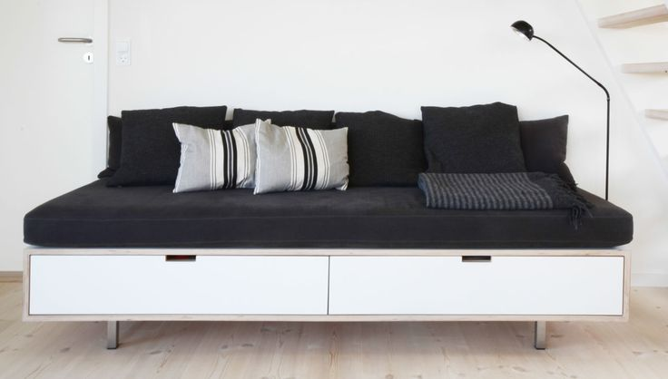 Daybed by the Danish Køkkenskaberne #bedroom #living_room #daybed #danish