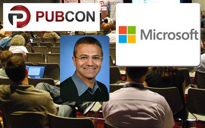 A face familiar to Pubcon conference-goers may soon be heading one of the world's biggest technology firms. Pubcon Las Vegas 2008 keynote speaker Satya Nadella — currently executive vice president of Microsoft's cloud and enterprise group — is likely to be named the firm's new chief executive, replacing Steve Ballmer, according to a source familiar with the matter first reported by media company Bloomberg.