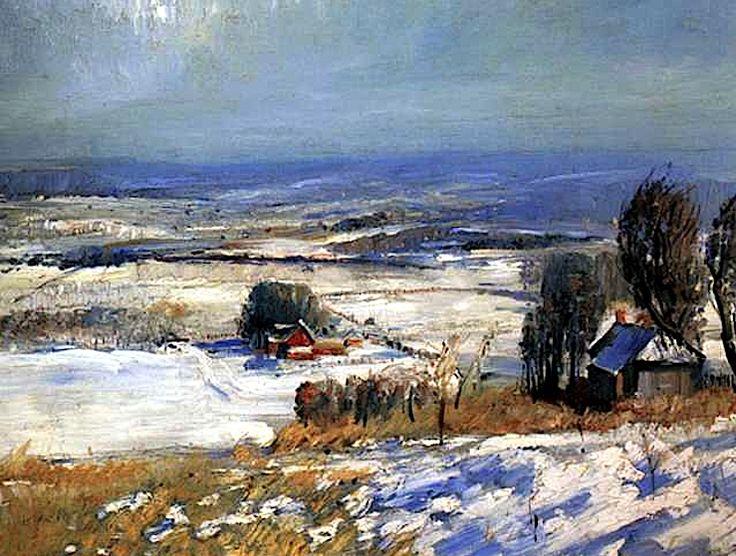 THOMAS HART BENTON http://www.widewalls.ch/artist/thomas ...  |1950s American Realism Art Landscapes