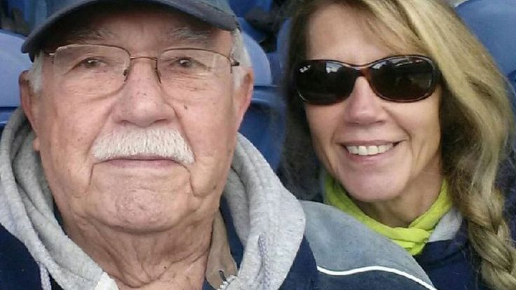 Ray Harding, a Seahawks ticket holder from day one, passed away at the 49ers game. At Saturday's game, he was remembered.