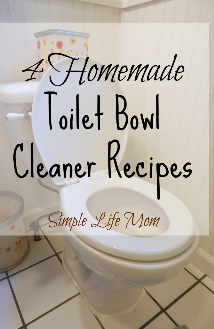 How to make bathroom cleaner with vinegar - 4 Homemade Toilet Bowl Cleaner Recipes All Natural