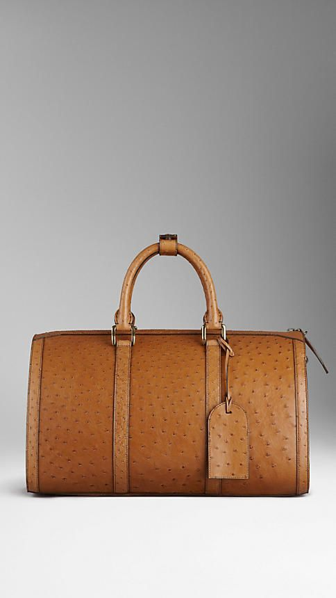 Burberry ~ The Large Alchester, Tan Alligator Leather 2015