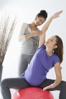 Exercise balls can be used to help induce pregnancy.