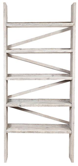 Originele boekenkast trap van steigerhout