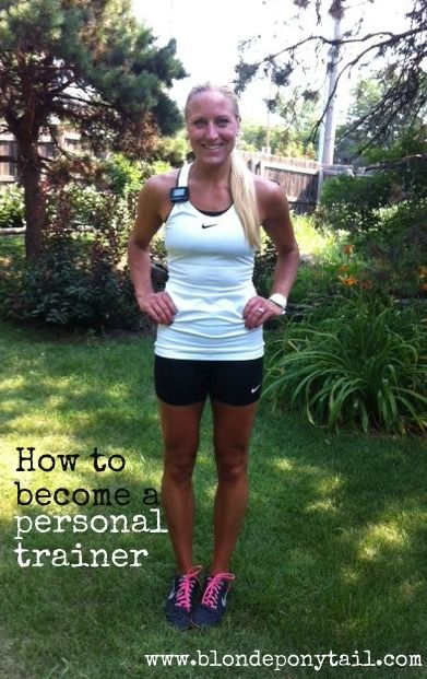 How to Become a Certified Personal. Now that I have met my goal, I want to learn more everyday! #FitnessBucketList