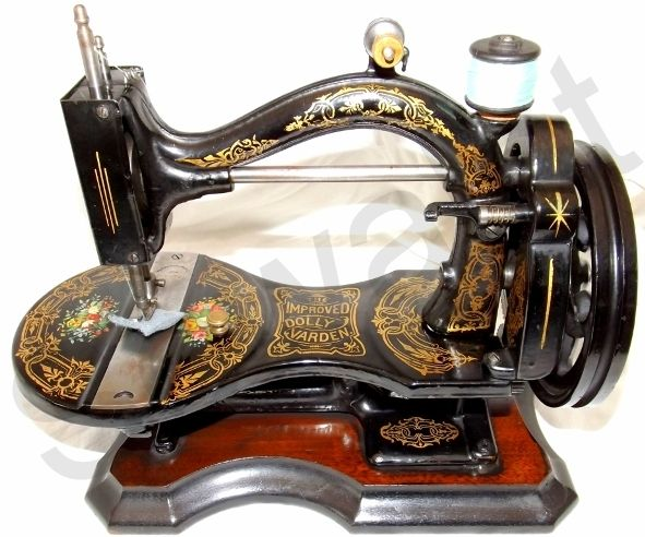 The Improved Dolly Varden (circa 1874) sewing machine