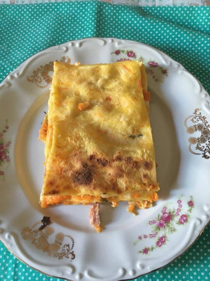 Lasagna di zucca - https://www.food4geek.it/recipe/lasagna-di-zucca/