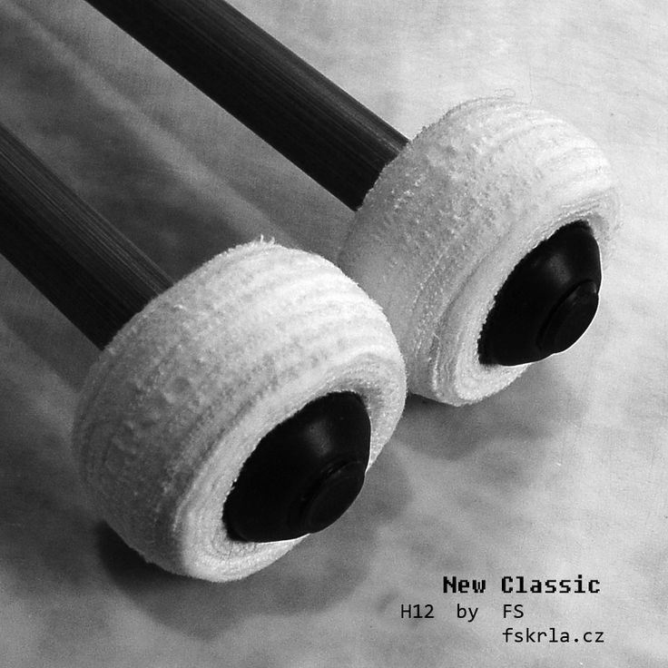 Timpani mallets FSH 12 new classic  flannel mallets
