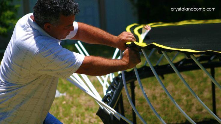 Assembling Our Springfree (Safe) Trampoline