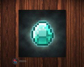 Adesivo Caixa Acrílica Diamante Mine...