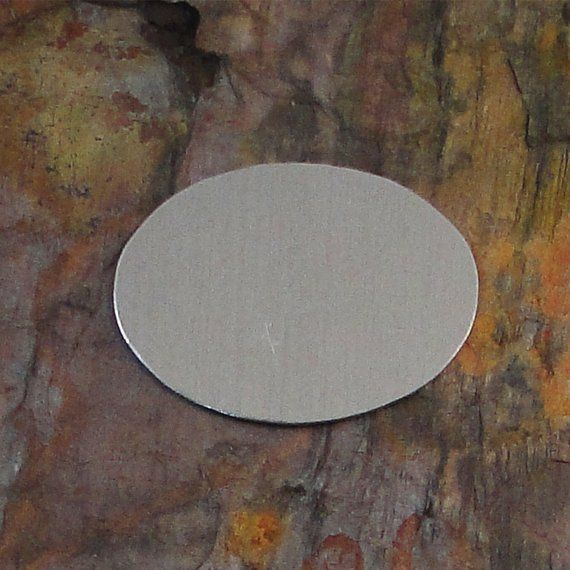 5 Deburred 18g Aluminum 1 1 2 Inch X 1 1 8 40mm X 30mm Oval Stamping Blanks Stamping Blanks Stamp Support Handmade