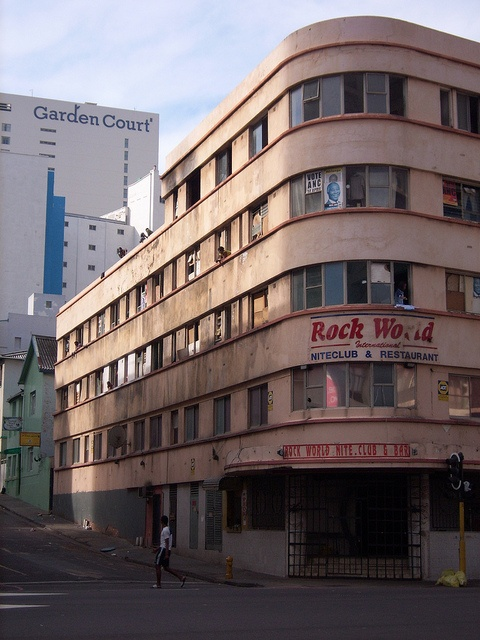 Durban - Point Road - was known as the red light district,  used to be an Asian restaurant in the gated spot before the area completely deteriorated