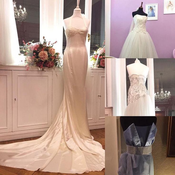 Inaugurazione dell'atelier di Azzurra Di Lorenzo. Se cercate un abito da sposa da sogno dovreste andare da lei  #wedding #weddingdress #ss17 #azzurradilorenzo #fashion