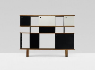 Rangement bookcases by Charlotte Perriand.