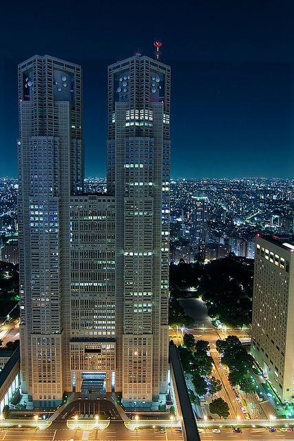 Tokyo Metropolitan Government Building  lσvє ▓▒░ ♥ #bluedivagal, bluedivadesigns.w...