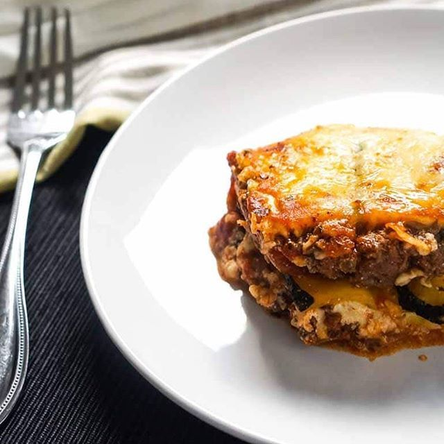 Keto Lasagna With Zucchini Noodles Ingre Nts 16 Oz Ground Beef 1 Cup Raos Marinara Sauce 1 Zucchini Large 10 Oz Ricotta Cheese 4 Oz Mozzarella
