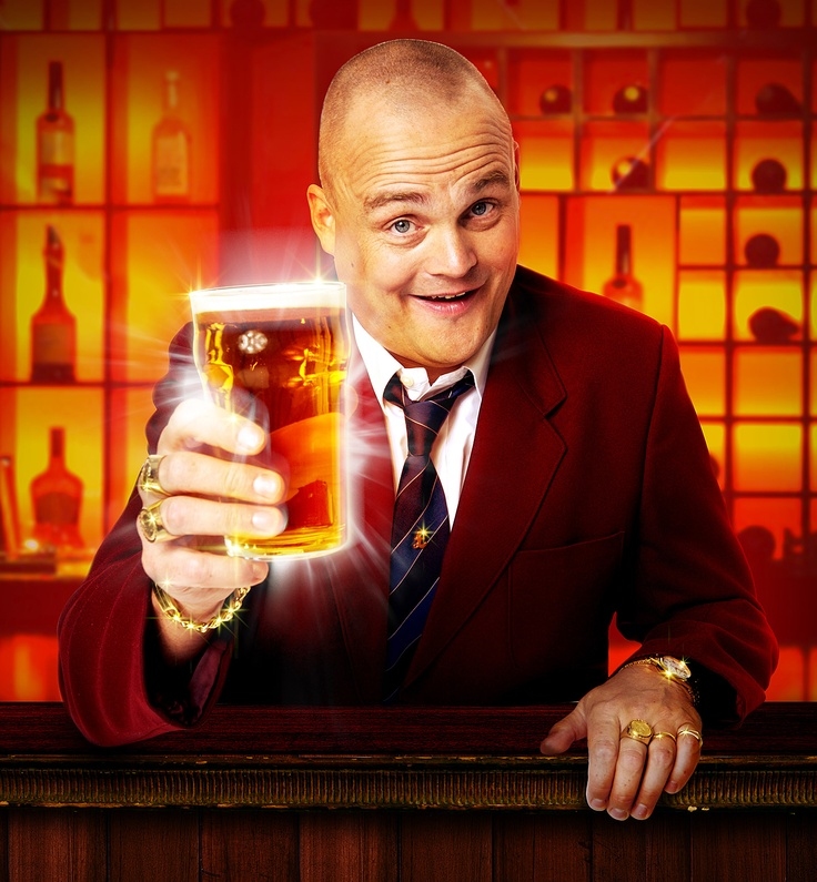 Al Murray (comedian, and television personality, known as The Pub Landlord)