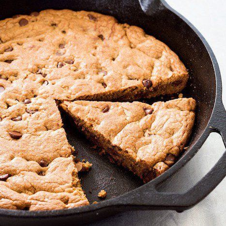 The hot bottom and sides of the cast-iron skillet create a crispy crust for this decadent cookie from Cook's Country's Cook It in Cast Iron cookbook. Even better, it's all baked in one easy batch. Cut it into wedges or let folks break off pieces. Grab your skillet to bake this gooey Baked Pepperoni Pizza [...]