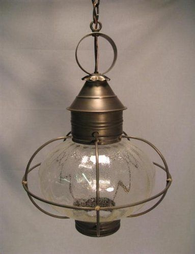 Caged Onion Hanging Raw Copper 2 Candelabra Sockets Clear Glass by Northeast Lantern. $491.50. Northeast Lantern 2542-RC-LT2-CLR Caged Onion Hanging Raw Copper 2 Candelabra Sockets Clear Glass Raw Copper