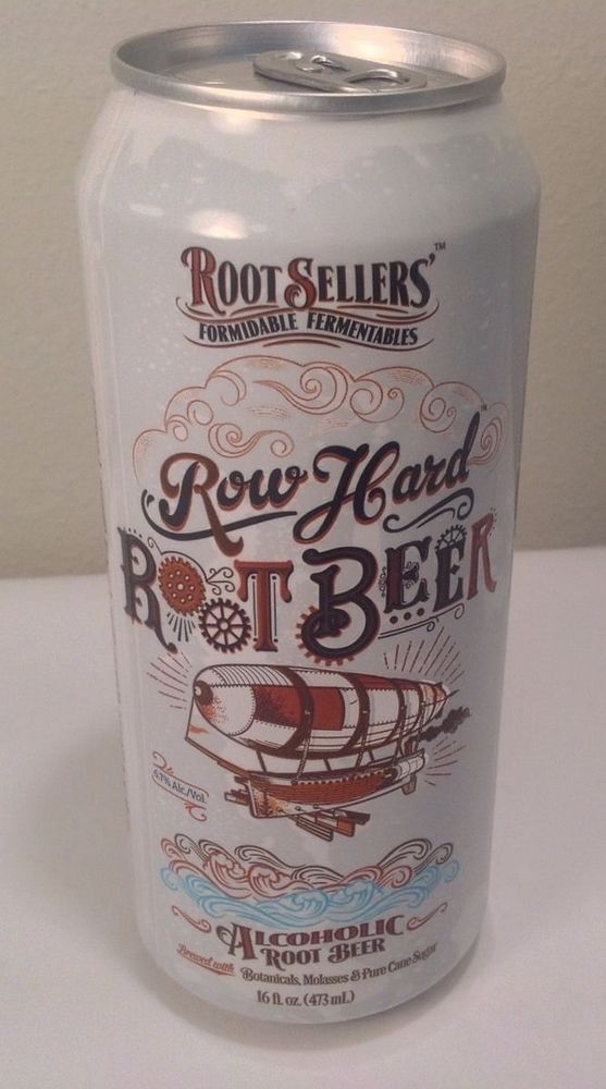 Beer Can Weston Brewing Missouri Row Hard Root Sellers Alcoholic Root Beer EMPTY
