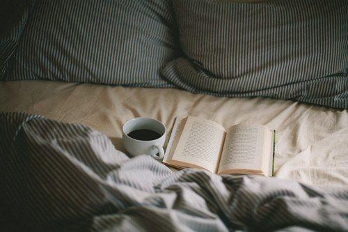 tea and a book//
