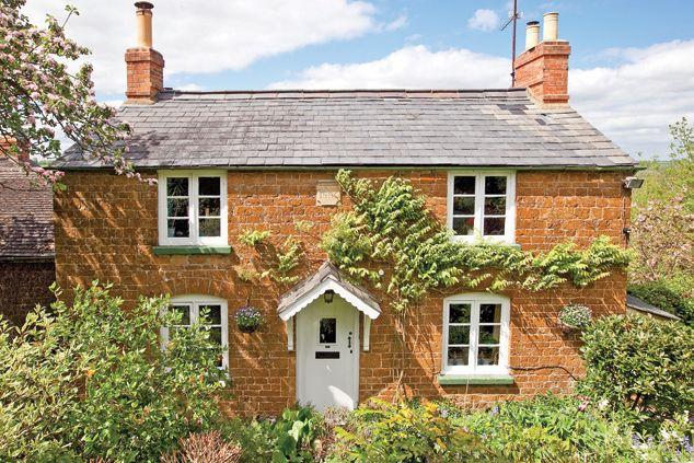 Red sandstone cottage!
