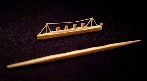 San Francisco artist creates Titanic from a single toothpick
