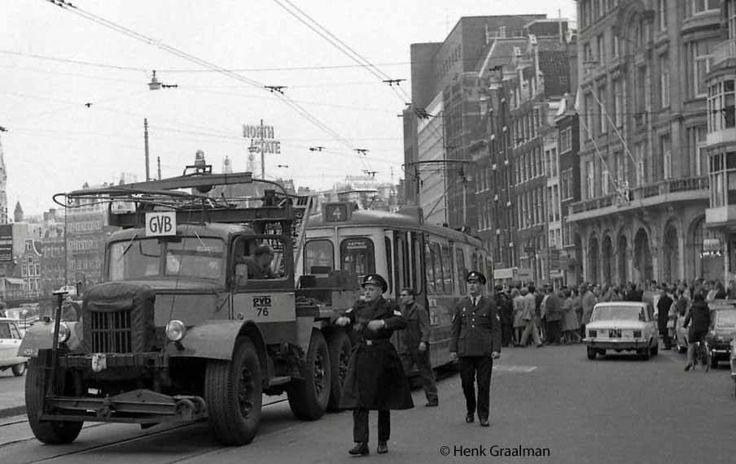 Rokin Amsterdam (jaartal: 1960 tot 1970) - Foto's SERC