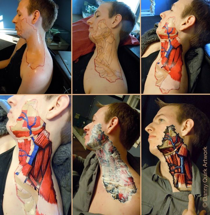 Unbelievable Anatomical Illustrations Using Sharpies by Danny Quirk