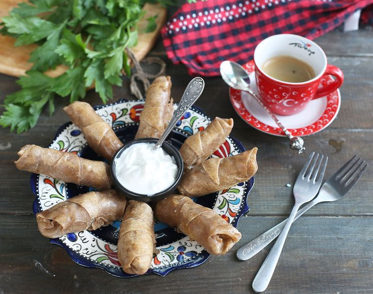 Полезные сигара бёрек в духовке | Рецепты правильного питания - Эстер Слезингер
