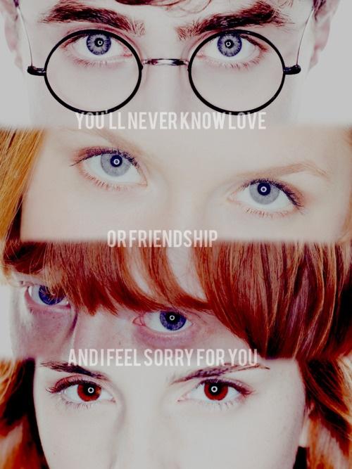 harry, ginny, ron, hermione
