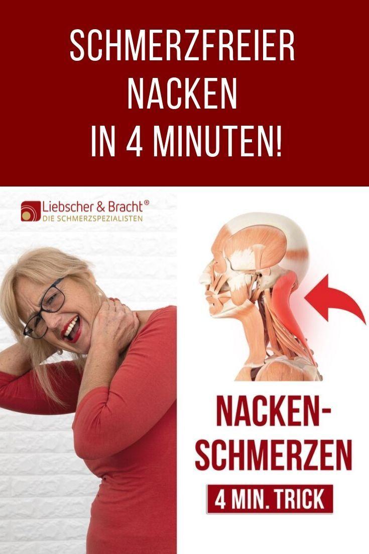 Schmerzfreier Nacken in 4 Minuten