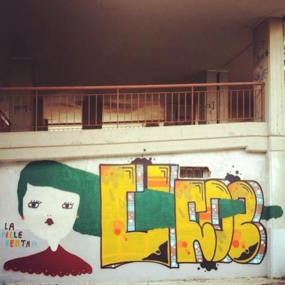 """Green like a Mermaid...."" La Fille Bertha X Ufoe Sant'Elia  2013"