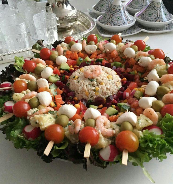 Mooi foto's | Salade composé marocaine, Salade marocaine ...